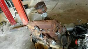 1948 Chevrolet Core Engine Assembly 6 Cylinder 346629