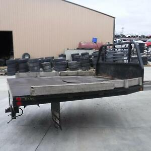 9 Foot Flat Bed 9 Dually Flatbed With Gooseneck Ball