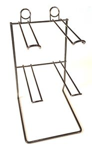 Carton Of 10 Counter Top Display Stand Or Rack With 4 Pegs Holds 48