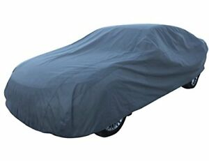 Basic Guard 3 Layer Dust Uv Ray Resistant Universal Fit Outdoor Car Sedan Cover