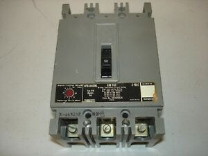 used Westinghouse Mark 75 Circuit 50 Amp 600 Vac Breaker Hfb3480ml used