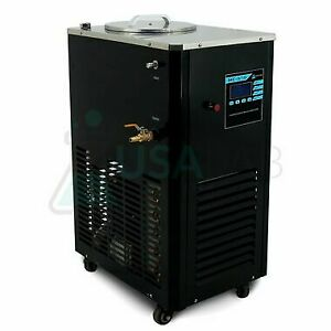Usa Lab 110v 5l 10 c To 99 c Magnetic Recirculating Heater Chiller Dfy 5 10