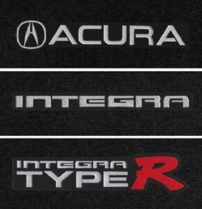 Lloyd Mats Acura Integra Logos Velourtex 4pc Floor Mats 1994 2001