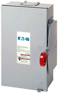 Eaton 100 Amp 24 000 Watt Outdoor Electrical Double Throw Safety Transfer Switch