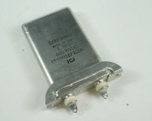 New 1uf 600vdc Motor Run Capacitor Cp69b1ef105k1