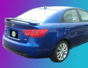 Painted Spoiler For A Kia Forte 2010 2013 Custom Style
