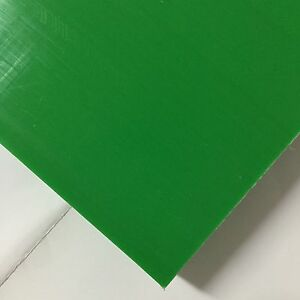 Hdpe high Density Polyethylene Plastic Sheet 1 4 X 24 X 48 Green Color