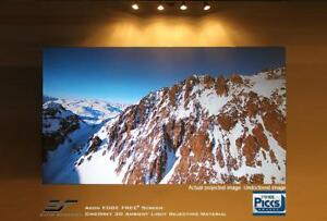 New Elite Screens Ar120dhd3 Aeon Series 120 16 9 Fixed Frame Projection Screen