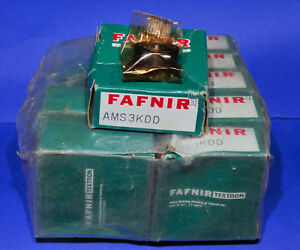 Fafnir S3k Ams3kdd Double Shield 9 Bearings Abec3 New In Box free Shipping
