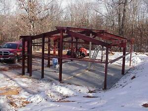 Steel Building 30x40x10 Simpson Metal Building Storage Garage Prefab Kit