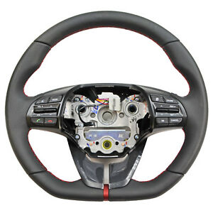 Steering Wheel Assembly W Buttons Switch Paddles For 16 17 Hyundai Elantra