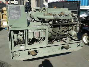 10kw Military Generator Condition Unknown Cleaning Out Garage