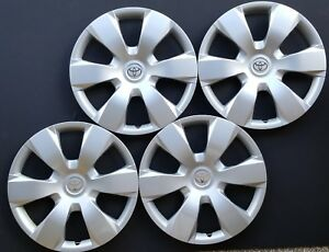 New Hubcaps Wheel Covers Fits 2007 2008 2009 2010 2011 Toyota Camry 16 Set Of 4