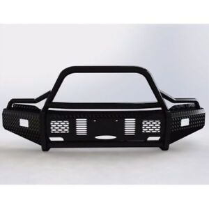Ranch Hand Bsf18hbl1 Summit Bullnose Front Bumper Black For 2018 Ford F150