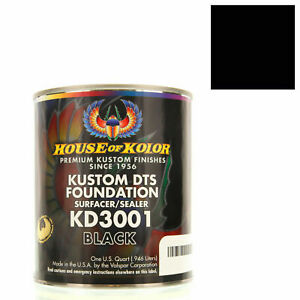 Gallon Black Custom Dts Foundation Surfacer Sealer Epoxy Primer House Of Kolor
