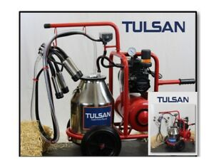 Tulsan Goat cow Milking Machine Hybrid Electric Portable Milk Cows And Goats