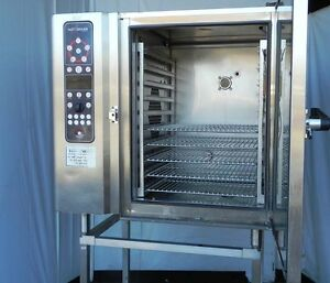 Alto Shaam Electric Oven Combi Combination Convection Steamer Full Size 10 18