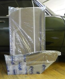 1971 Chevelle Coupe Front Rear Interior Door Panel Set Saddle In Stock