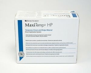 Dental Hp Temporary Crown Bridge Maxitemp Equivalent To Luxatemp Bleach