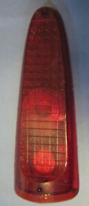 1956 Studebaker Station Wagon Tail Light Lens Nos 56dt