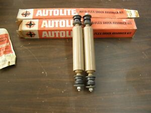 Nos Oem Ford 1955 1956 1957 Thunderbird Front Shocks Fairlane Truck 1954 1953 52