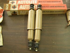 Nos Oem Ford 1957 1960 Truck Pickup Front Shocks 1958 1959 Edsel Fairlane F100