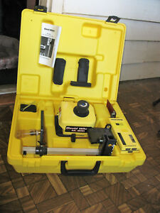 David White Ml 200 Rotary Laser Level W agl Ls 4 Receiver In Case