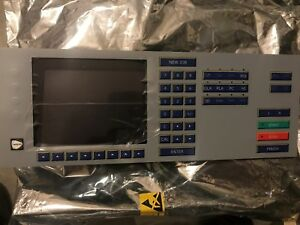 Weco Edger 430 450 455 Optical Edger Complete Key Pad And Screen New