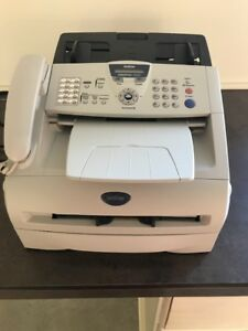 Brother Intellifax 2820 Fax And Copier All in one Laser Printer Page Count 1477
