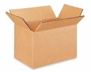 6x4x4 Cardboard Packing Mailing Moving Shipping Boxes Corrugated Box Cartons New