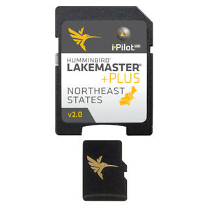 Humminbird LakeMaster Chart NorthEast States PLUS - MicroSD - Version 2
