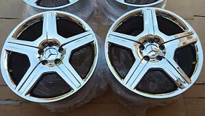 19 mercedes Amg S class Cl class New Chrome Factory Oem Wheels Rims 65495
