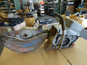 Echo Csg 680 Concrete Cuttoff Saw Damaged Sold For Parts