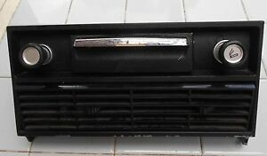 Bmw Bavaria 1972 Center Console Vents Ashtray Lighter Controls Assembly