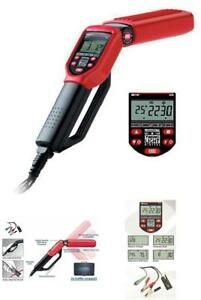 Professional Pro Timing Light With Tool Case Tachometer Advance Dwell