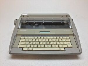 Authentic Brother Sx 4000 Electric Typewriter With Lcd Screen Tested And Working