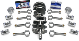 Chevy 400 434 Scat Stroker Kit 2pc Rs Premium Forged Flat Pistons H Beam Rods