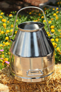 20l 5 2 Gal Stainless Steel Milk Can Wine Pail Bucket Jug Tulsan No Hm 108139
