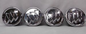 Buick Lucerne Lacrosse Regal Chrome Center Cap Oe 2 1 2 Set Of 4