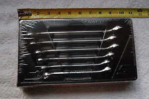 New Snap On 6 piece Metric Double End Flare Nut Wrench Set 9 To 21mm New