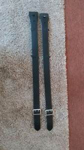Lot Of 2 Jay Pee Leather Police security Duty Tactical Belt Size 32 Nwot