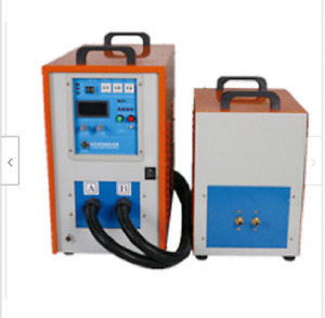 High Frequency Melting Melt Furnace Gold Silver Copper Induction Heater Welder
