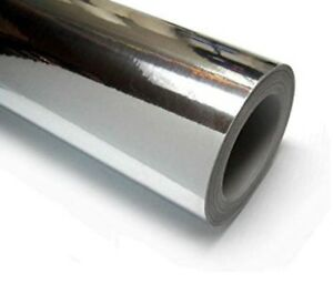 Silver Chrome Vinyl Roll 52in X 25yd