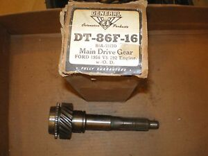 1956 Ford V8 292 Engine With Overdrive Transmission Main Drive Gear B6a7017d