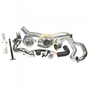 06 07 Gm 6 6l Duramax Lbz Industrial Injection Race Compound Turbo Kit
