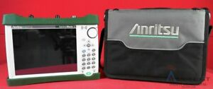 Anritsu Ms2711e 08 Handheld Spectrum Analyzer 100 Khz To 3 Ghz Handheld Spectr