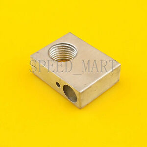 Aluminium Heater Block Assembly Extruder Hot End For M10 1 0 Nozzle 3d Printer