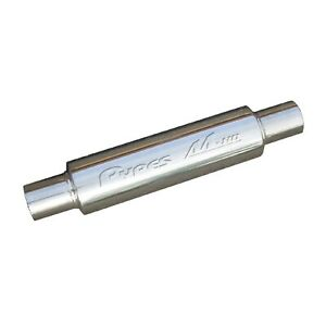 Pypes Mvr203s Universal Pair Of 14 X 3 Outlet M 80 Race Pro Exhaust Mufflers