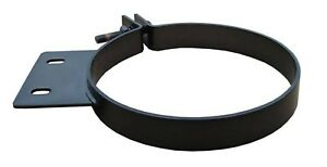 Pypes Hsc008b Universal Black 304 Stainless Steel 8 Diesel Stack Exhaust Clamp