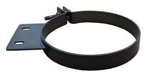 Pypes Hsc010b Universal Black 304 Stainless Steel 10 Diesel Stack Exhaust Clamp